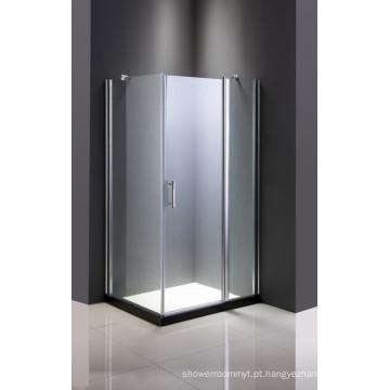 Cerco de chuveiro de vidro barato simples