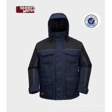 OEM China alta calidad barato invierno seguridad uniformes chaqueta