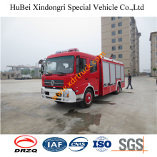 6ton Good Dongfeng Fire Pump Remote Control Heavy Duty Water Fire Truck Euro4