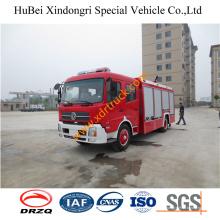 6ton Good Dongfeng Fire Pump Пульт дистанционного управления Heavy Duty Water Fire Truck Euro4
