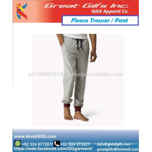 Best quality unisex Winter warm Fabric fleece trouser and pant with custom style joggers