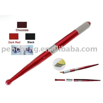 Permanente Tatuagem Permanente Maquiagem Pen Blade Ink
