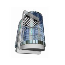 Ascenseur panoramique, ascenseur de tourisme avec petite salle de machine (XNG-005)