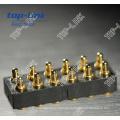 12 Pin Double Row Pogo Pin Connector, High Durability
