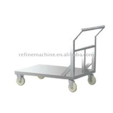Stainless steel Flat cart