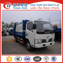 Dongfeng 5000 литровая вместимость мусоровоза, продажа мусоровоза