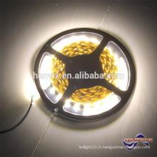 12V 60 leds par mètre led bande blanc chaud, bande LED 2700k