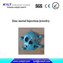 Bijoux en zinc et injection de métal