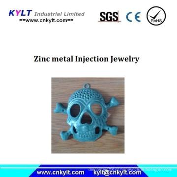 Jóias de injeção de metal de zinco
