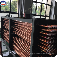 Bobinas de cobre del condensador del tubo para la torre de enfriamiento