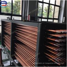 Bobinas de condensador de tubo de cobre para torre de resfriamento