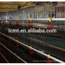 Buena calidad Jaula de pollo de broiler de bajo precio para equipos avícolas