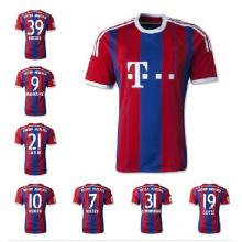 2014-2015-Fußballverein FC Bayern München Grade ursprünglichen Fußball Trikot