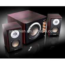 YM-3800 2.1 wooden multimedia speakers