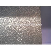 placa de aluminio en relieve estuco para refrigerador