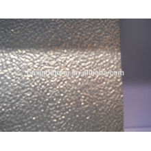 stucco embossed aluminum plate for refrigerator