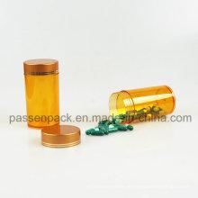 Gelbe Haustiermedizin Flasche für Tablettenverpackung (PPC-PETM-006)