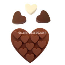 Jalea de Chocolate Candy Jelly Heart Mold Bandeja