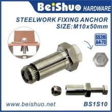 Stainless Steel Hex Bolt Sleeve Anchor for Construction
