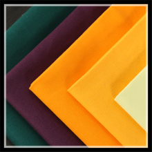 Kawat Warna Tinggi CVC Dyed Garment Fabric
