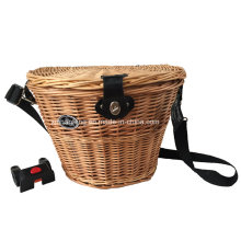 Oval Willow Bicycle Basket for Bike (HBG-149)