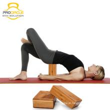 Bloco de Yoga de Bambu Natural ProCircle Eco-friendly