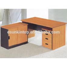 Muebles de oficina de lujo para la venta, aspecto de color de haya de cereza