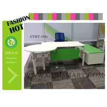 Perna de mesa de estudo seguro com 2 parafusos confortável e moderna mesa de escritório foshan manuafacturer