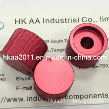 Precision Custom Red CNC Machined Anodize Aluminum Parts