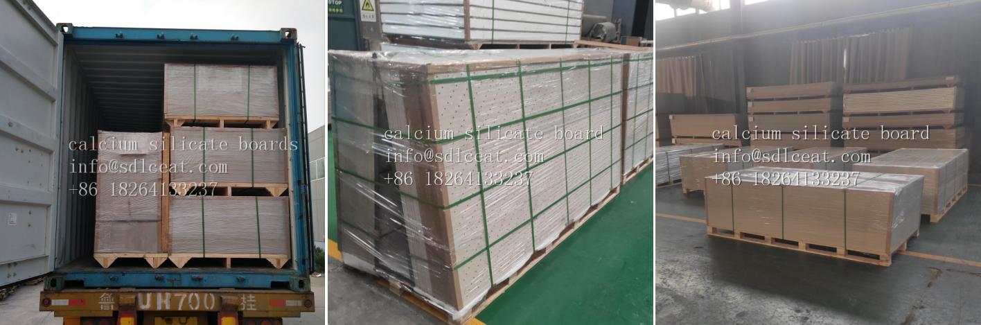 easy installation calcium silicate boards factory price