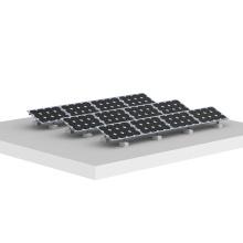 Flat Roof Triangle Panel Solar Montaje Estructura Roof Solar