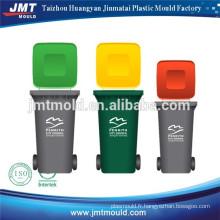 poubelle en plastique bin moule d'injection Fabricant