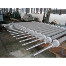 Water cooling roll for plate heating furnace