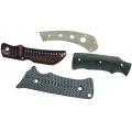 matériel de bonne qualité G10 couteau poignée