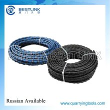 Wire Saw Cutting Machine Accessories Durable Diamond Wires