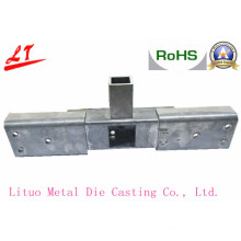 Resistente y duradera aleación de aluminio fundición de piezas de ángulo de muebles para las camas