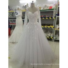 Aoliweiya настроить свадебные платья с цветочными аппликациями