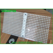 Glasanzeige P16 LED / Glasfenster LED-Anzeige / transparente Glas-LED-Anzeige
