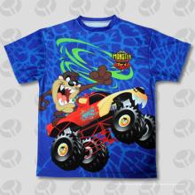 Полные сублимационные футболки Custom All Over Print Custom T-Shirts