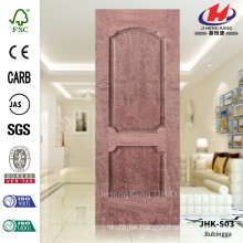 JHK-S03 Perfect Design Big Size Bathroom Project Good Price Veneer Bubingga Door Sheet