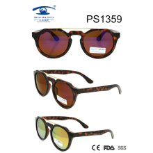 Round Style Customized Color PC Sunglasses (PS1359)