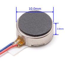 10mm Flat Vibrator Coin Motor For Cellphone