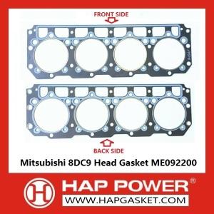 Junta de cabeça Mitsubishi 8DC9 ME092200