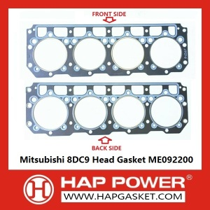 Mitsubishi 8DC9 Head Gasket ME092200