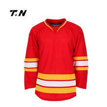 Beste Qualität Slim Fit Dye Sublimation Eishockey Jersey, Eishockey Shirt