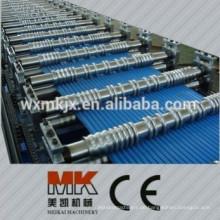 Farbige Stahl-Kreisbogen-Platte Roll Formmaschine / Steel Arc Panel machen Maschinen