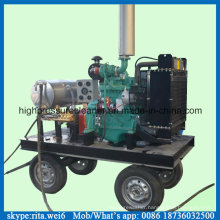 500bar High Pressure Wet Sand Cleaner Diesel Water Cleaning Machine