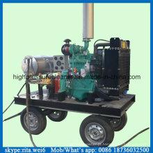 500bar alta pressão molhada areia água mais limpa Diesel máquina de limpeza