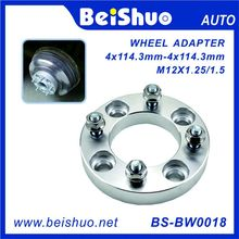 Wholesale 4 Hole Aluminium Alloy Wheel Spacer 4X114.3mm