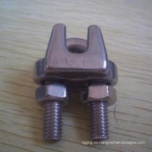 Clips de cuerda de alambre de acero inoxidable / tipo JIS de abrazadera